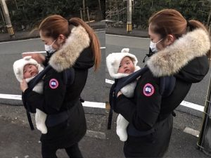 Canada Goose Celebrities in Down Jackets