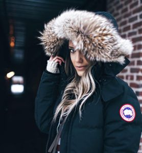 Canada Goose Street Style